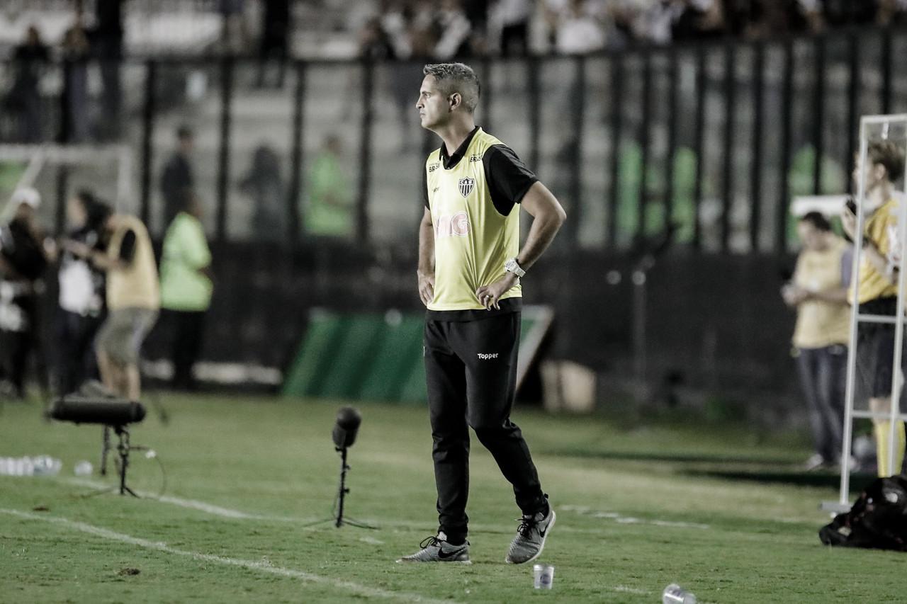 """Rodrigo Santana comemora terceira vitória seguida do Atlético-MG: """"Teve maturidade"""""""