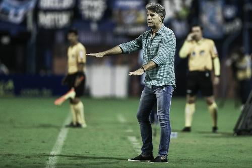 """Renato lamenta empate do Grêmio contra Avaí: """"Poderíamos ter saído com a vitória"""""""