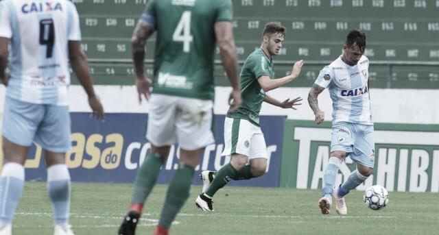 Rafael Longuine marca e Guarani vence Londrina no encerramento da Série B