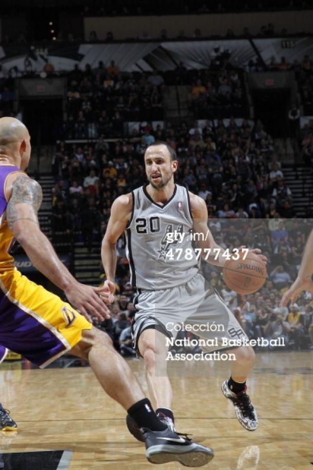 Los Spurs aniquilaron a los Lakers