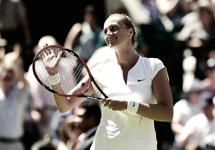 Petra Kvitova gears up for Wimbledon