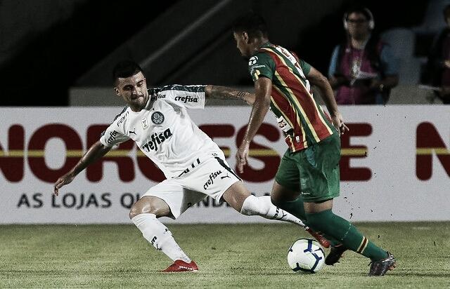 Tendo vantagem, Palmeiras recebe Sampaio Corrêa visando as quartas da Copa do Brasil