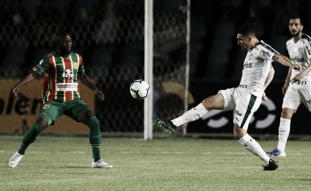 Com gol nos acréscimos, Palmeiras vence Sampaio Corrêa fora de casa pelas oitavas da Copa do Brasil