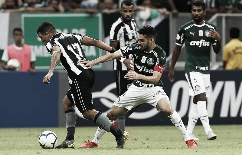 Gol e melhores momentos para Palmeiras 1x0 Botafogo pelo Brasileirão