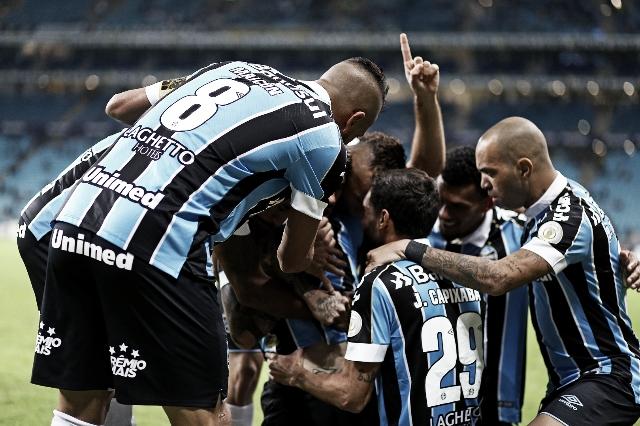 Grêmio supera Atlético-MG no Sul e conquista primeira vitória no Brasileirão
