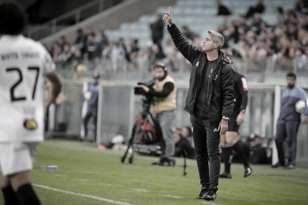 """Após derrota, Rodrigo Santana lamenta atuação do Atlético-MG: """"Precisávamos jogar mais"""""""