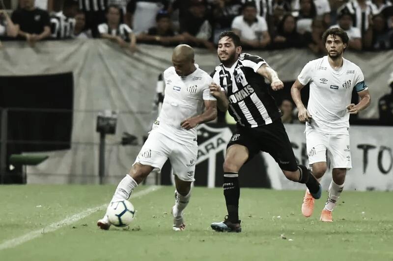 Pressionados, Santos e Ceará se enfrentam na Vila Belmiro pelo Brasileirão