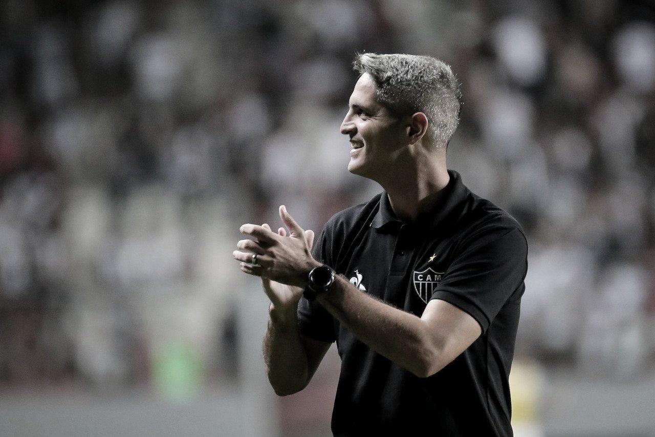 """Após resultado elástico do Atlético-MG, Rodrigo Santana comemora: """"Disciplina tática foi grande"""""""