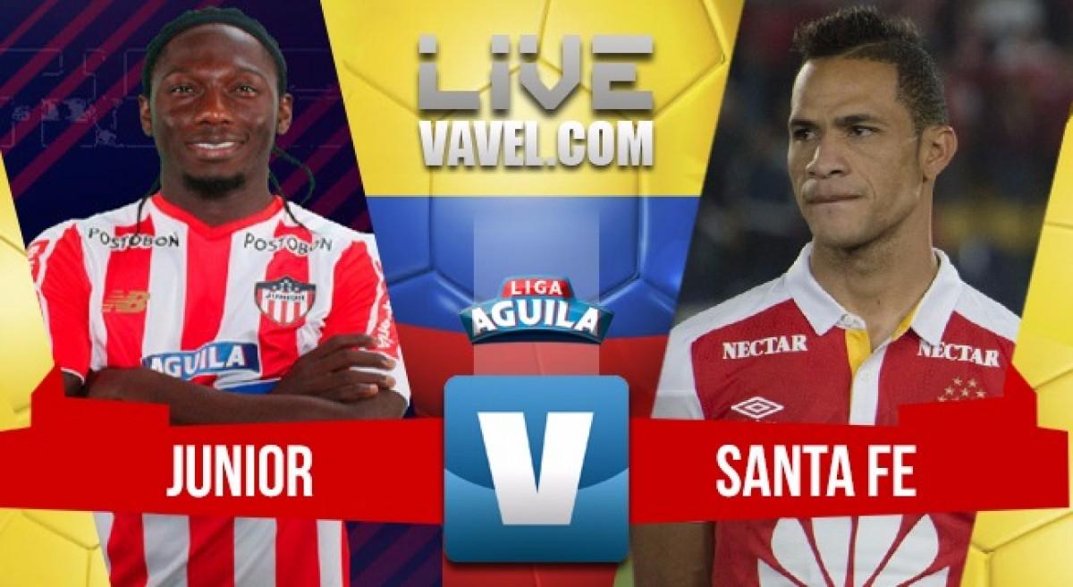 Valioso empate logra Santa Fe en Barranquilla