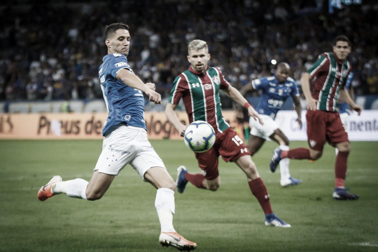 Thiago Neves vibra com classificação do Cruzeiro na Copa do Brasil, mas prega cautela