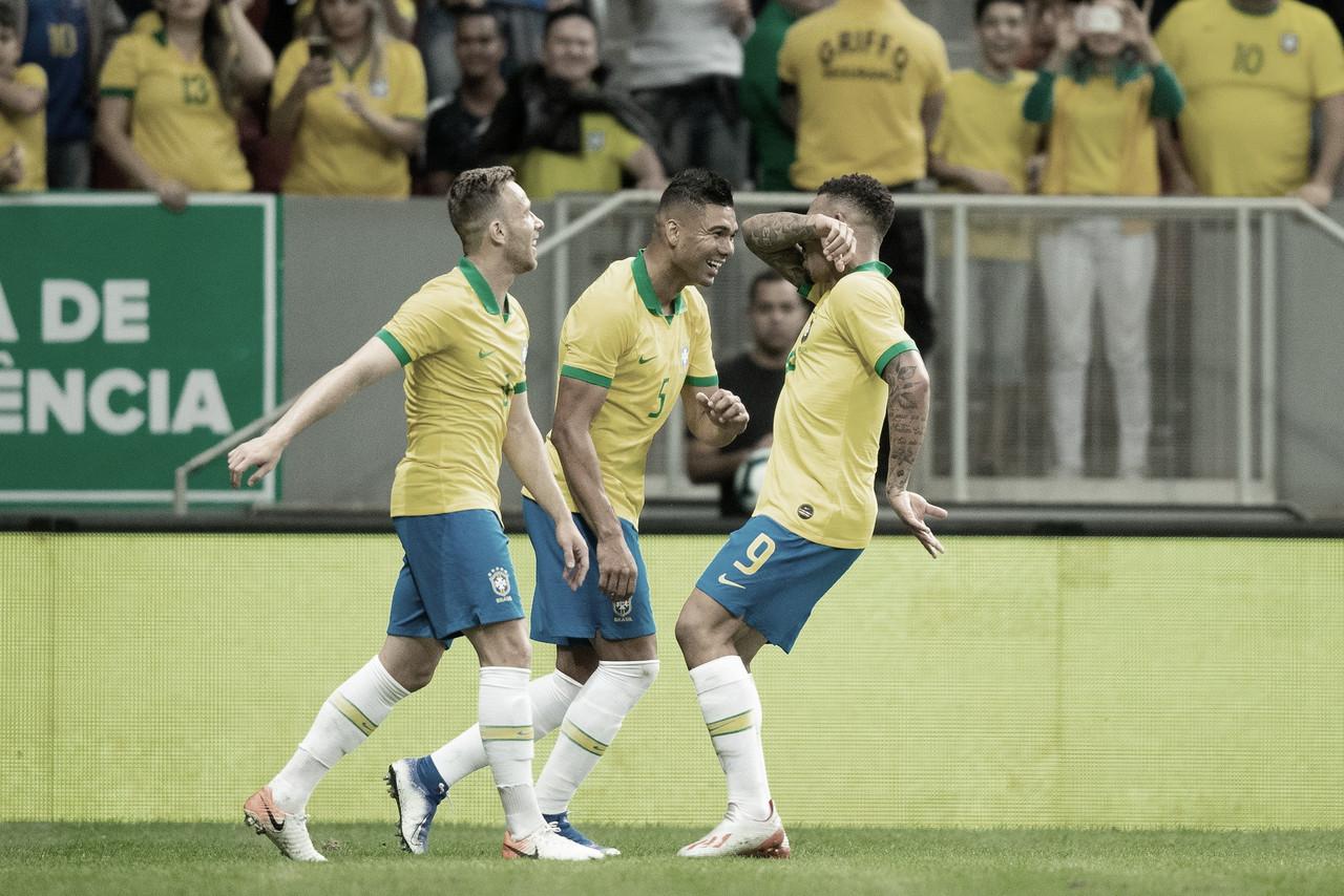 Gols e melhores momentos Brasil 7x0 Honduras pelo Amistoso 2019