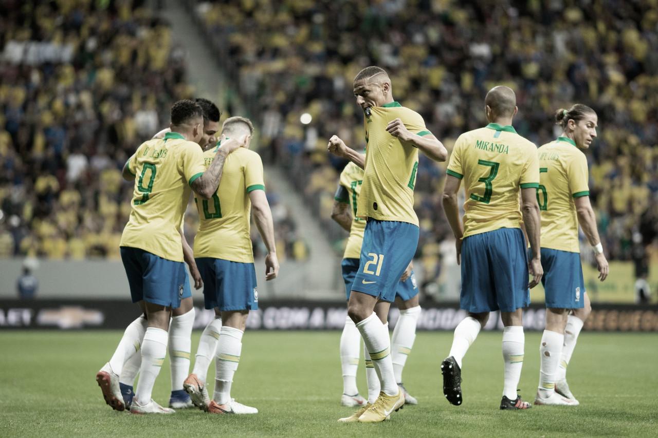 Visando a Copa América, Brasil faz último amistoso contra Honduras no Beira-Rio