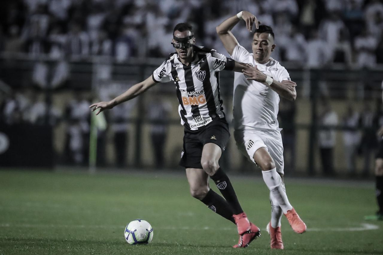 Resultado Santos 3x1 Atlético-MG pelo Brasileirão 2019