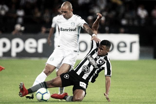 No primeiro jogo após eliminação da Libertadores, Grêmio recebe Botafogo