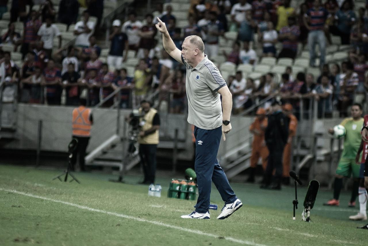 Com a defesa mais vazada do Brasileirão, Mano lamenta situação do Cruzeiro