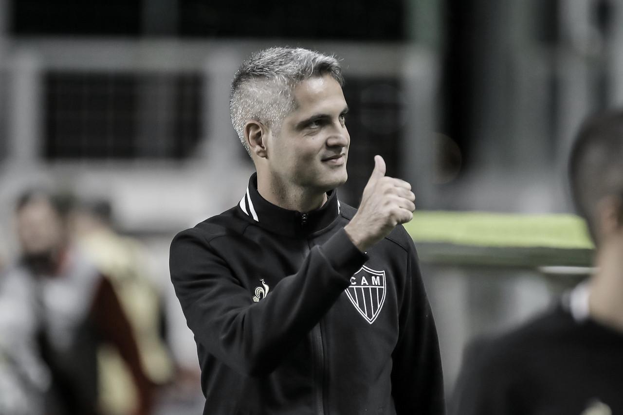 """Rodrigo Santana lamenta empate do Atlético-MG contra o São Paulo: """"Criamos inúmeras chances"""""""