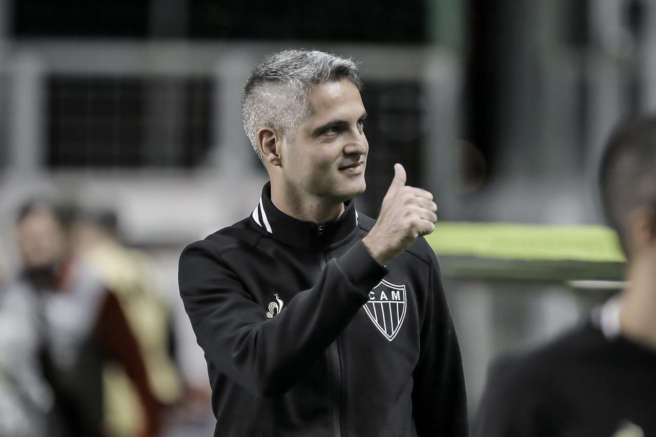 De interino a efetivado: Rodrigo Santana eleva desempenho do Atlético-MG