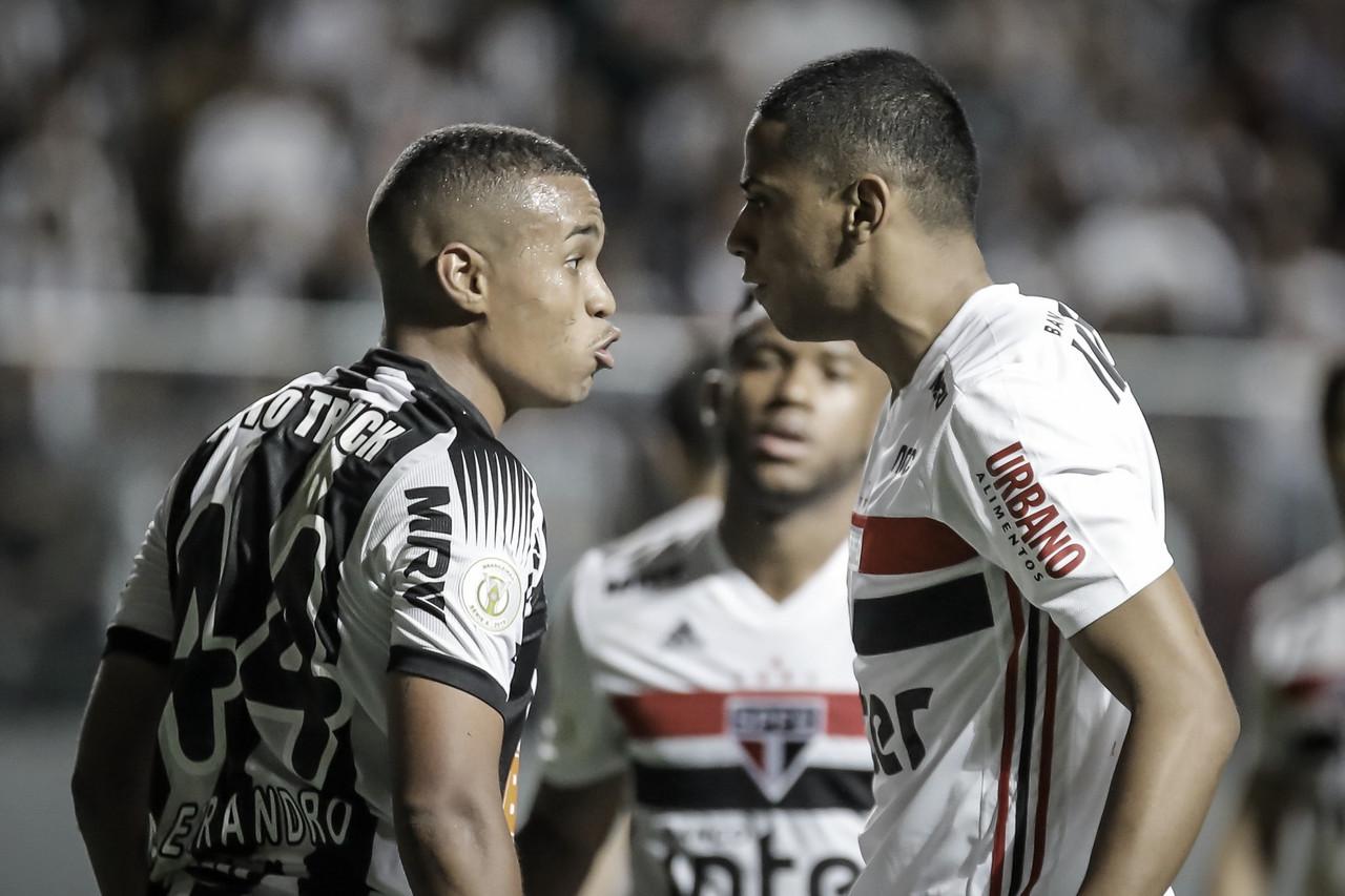 Rivalidade e equilíbrio marcam derby entre Atlético-MG e São Paulo