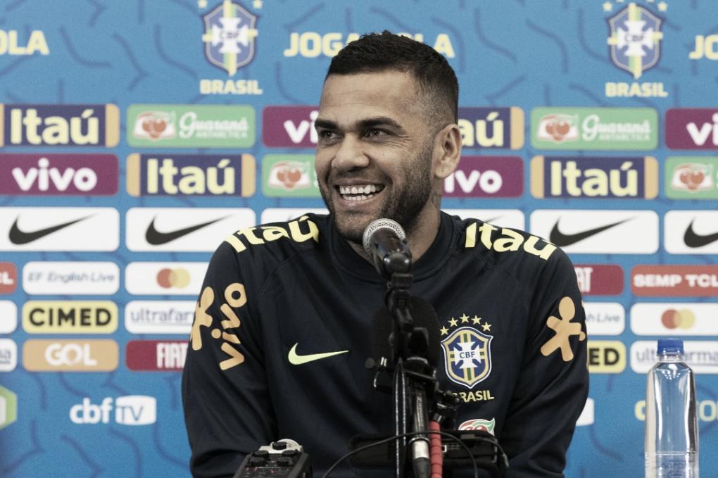 Venezuela, amor pelo Nordeste e volta à Bahia; Daniel Alves e sua coletiva pela Seleção