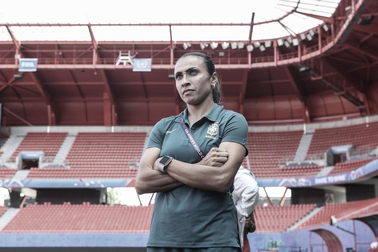 """Marta realça importância da partida do Brasil contra Itália: """"É vida ou morte"""""""