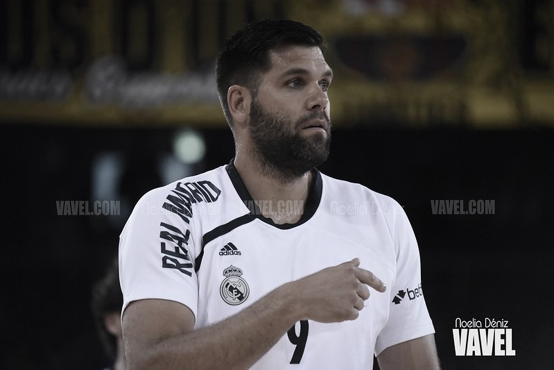 """Felipe Reyes: """"El equipo tiene ganas de acabar bien la temporada"""""""