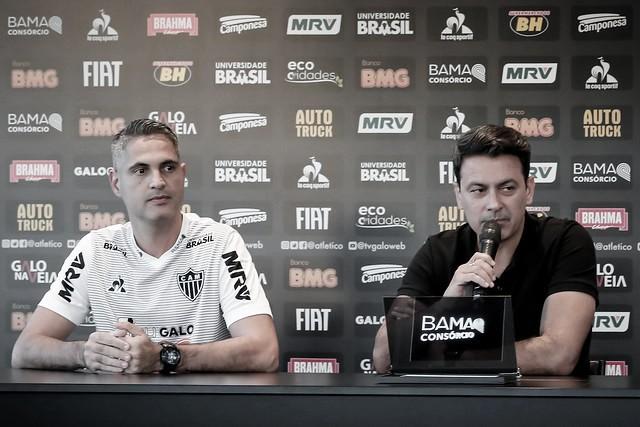 Atlético-MG efetiva Rodrigo Santana como treinador