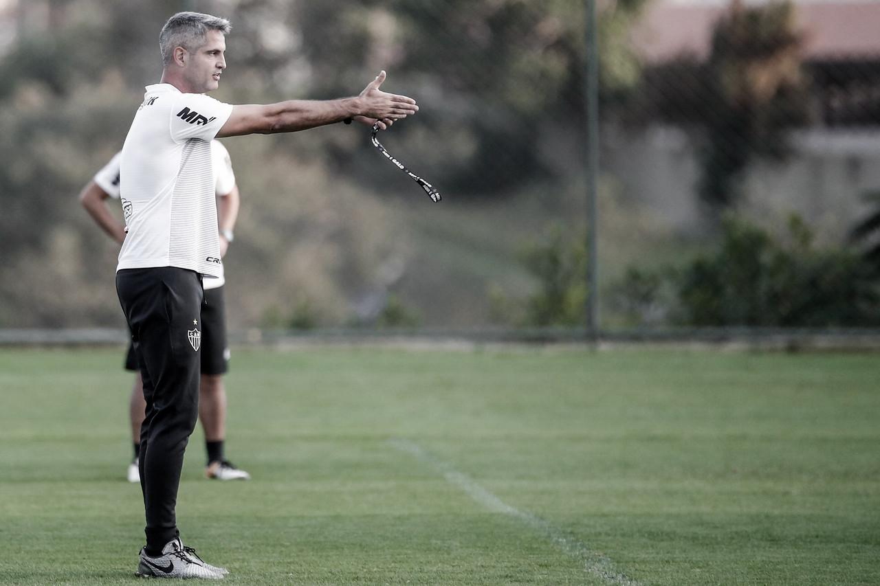 Rodrigo Santana promete força máxima do Atlético-MG diante Fortaleza