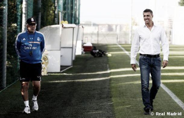 Hernán Crespo vuelve a visitar al Real Madrid