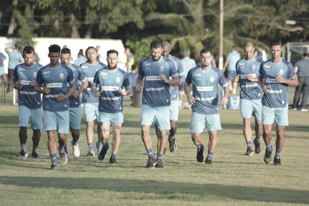 CSA tem mudanças para receber reservas do Grêmio em Maceió