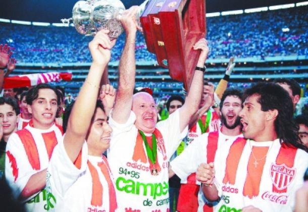 Cruz Azul - Necaxa, Final 1994-95: Ivo Basay electrocutó fantasías azules