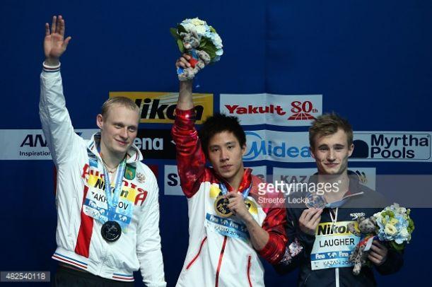 Kazan 2015, Tuffi: He Chao oro da 3m, Zakharov è argento