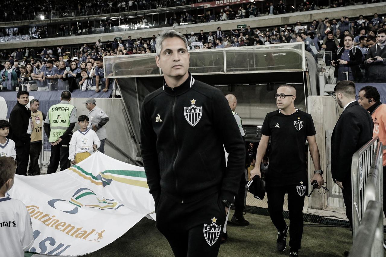 """Rodrigo Santana lamenta derrota do Atlético-MG e afirma: """"Não esperava esse resultado"""""""