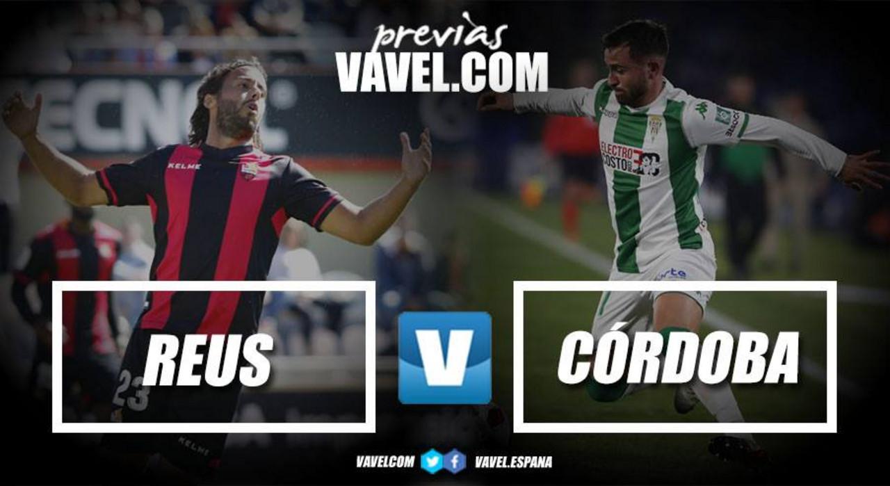 Previa CF Reus - Córdoba CF:el principio del fin