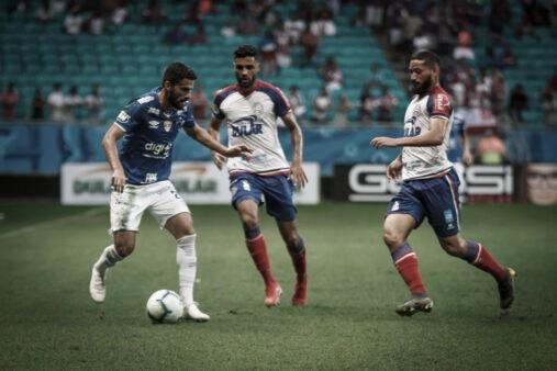Em situações opostas no Brasileirão, Cruzeiro e Bahia medem forças em BH