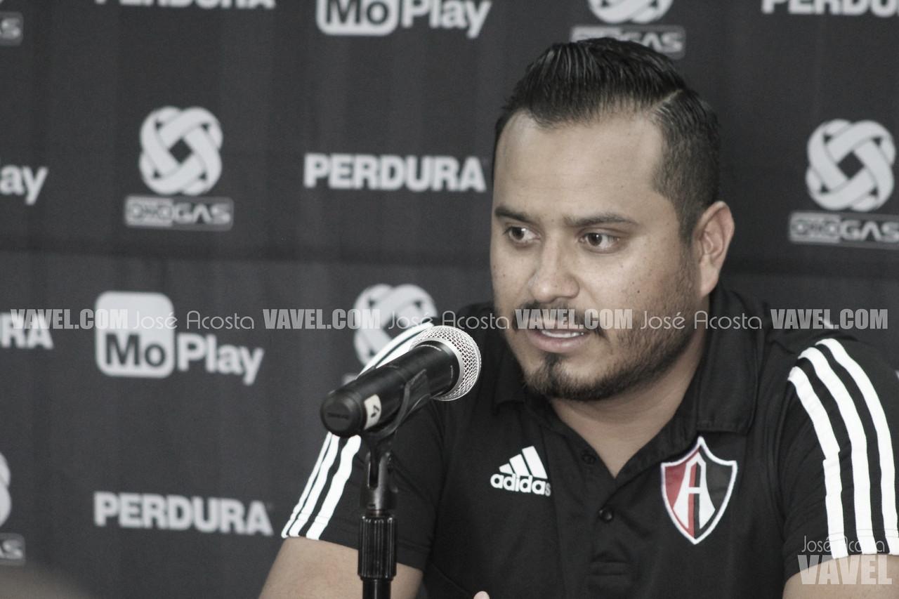 """Fernando Samayoa: """"Las jugadoras han hecho un Atlas diferente"""""""