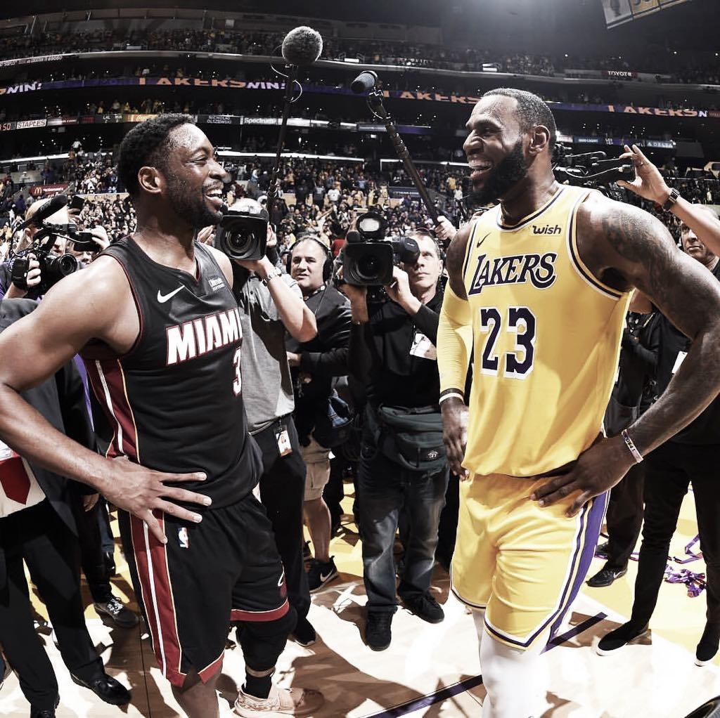 El último baile entre Dwyane Wade y LeBron James