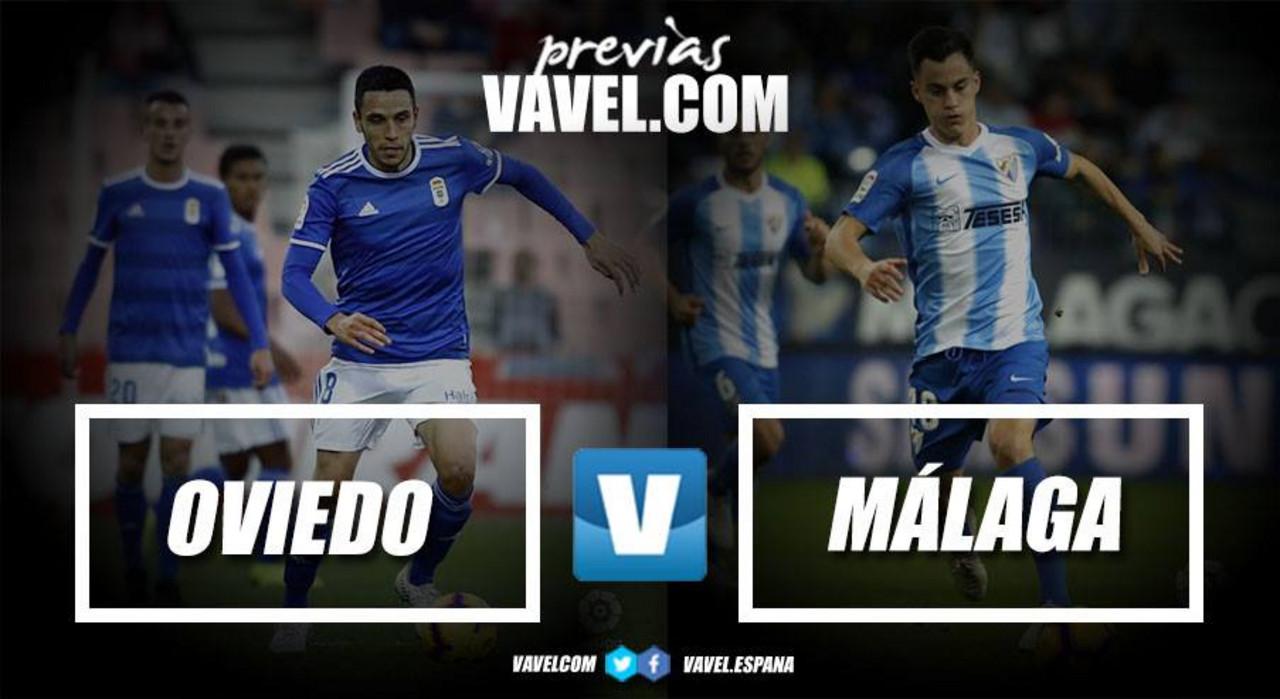 Previa Real Oviedo - Málaga CF: hora de terminar con la crisis