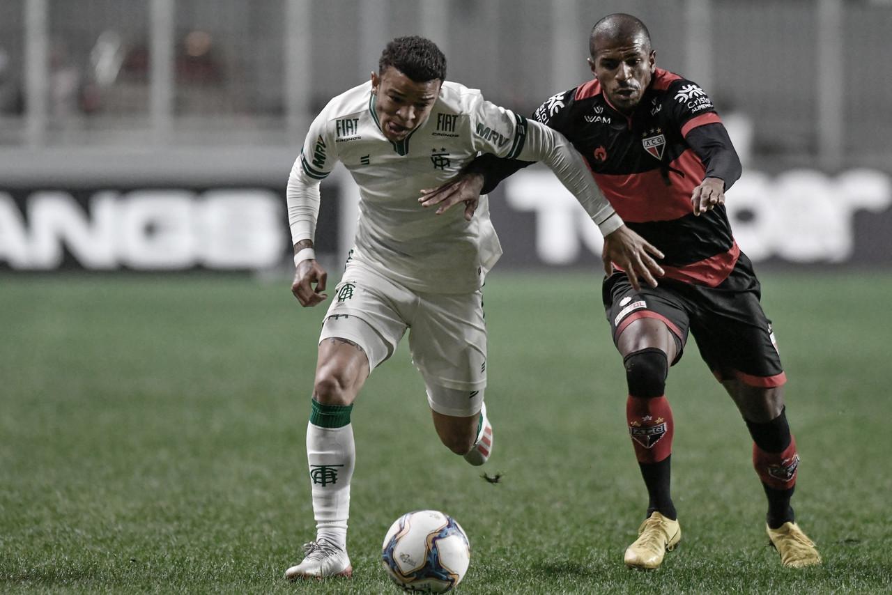 América-MG perde para Atlético-GO dentro de casa e amarga a lanterna da Série B