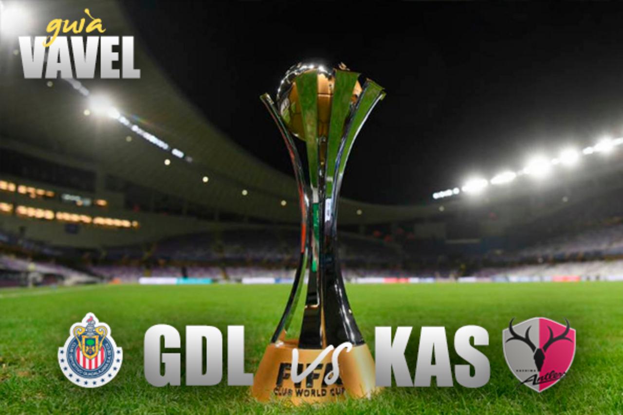 Chivas vs Kashima Antlers: cómo y dónde ver Cuartos de Final Mundial de Clubes, canal y horario TV