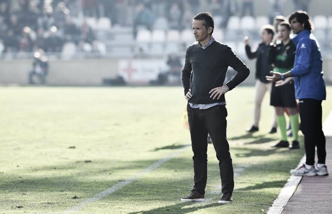 """Xavi Bartolo: """"La derrota no ha sido justa"""""""