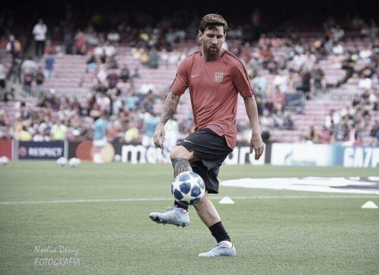Messi acumula50 goles en 2018