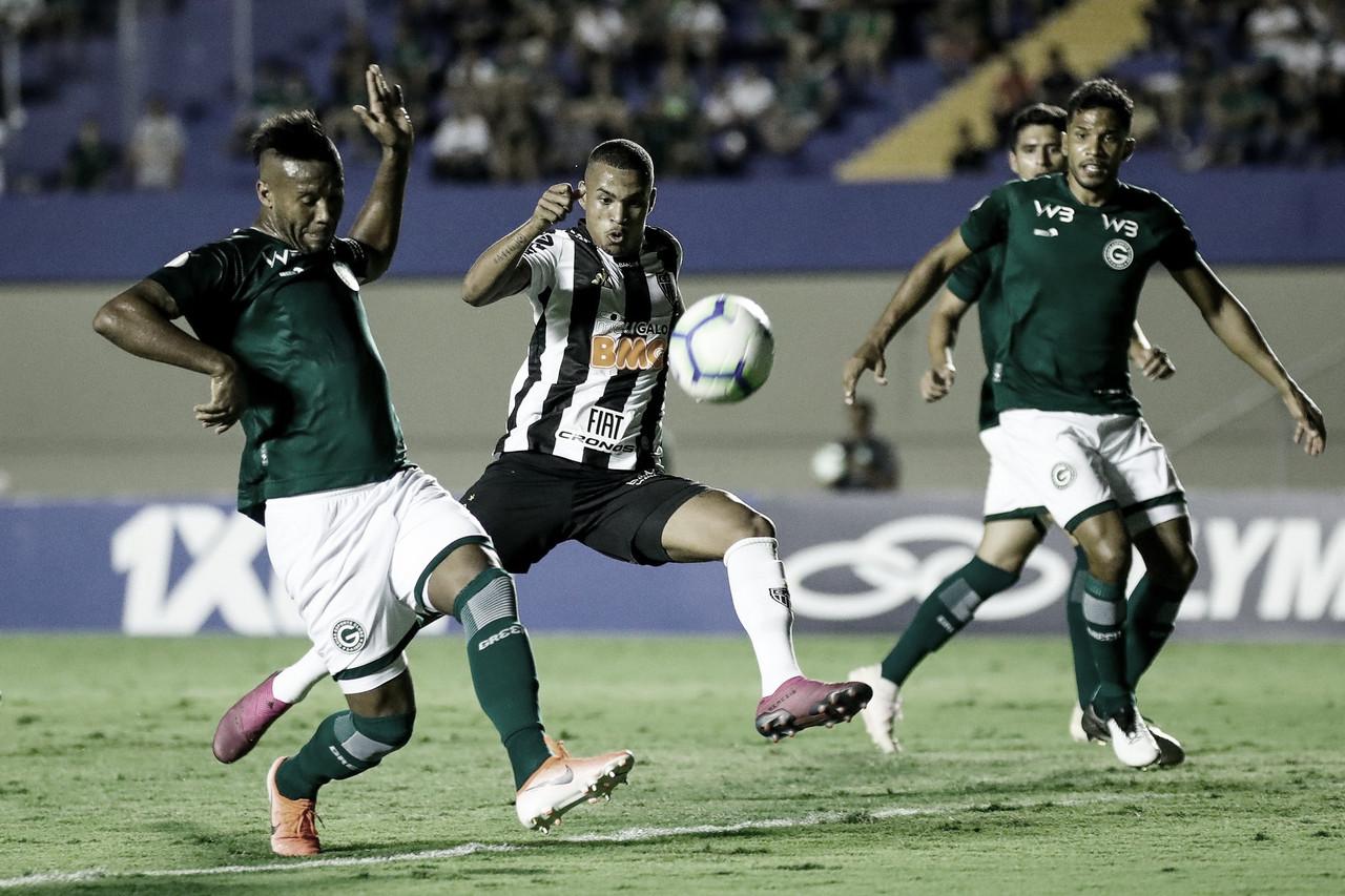 Em jogo de pouca criatividade, Goiás empata com Atlético-MG no Serra Dourada