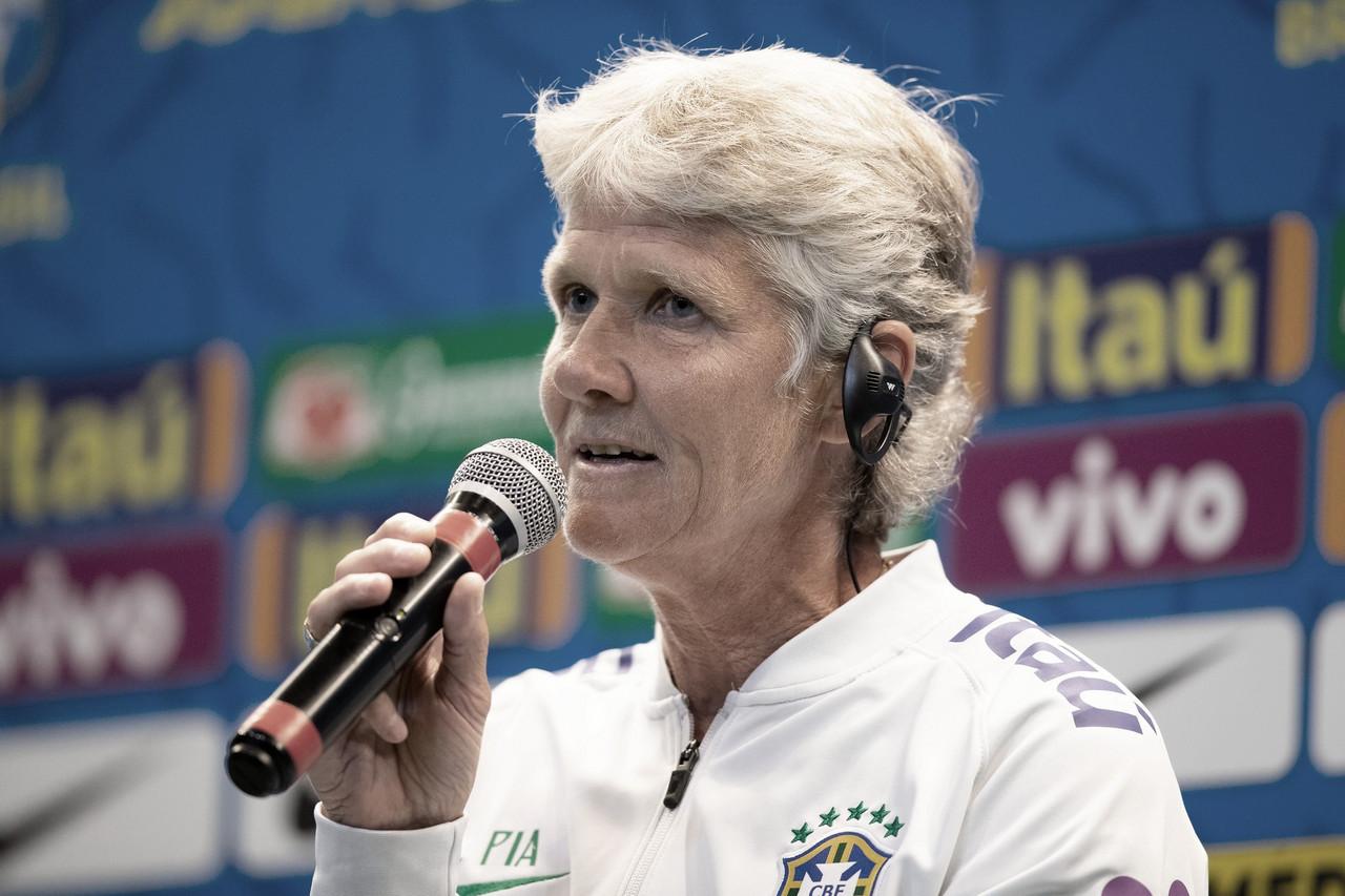 Com Marta e Formiga, Pia convoca Seleção Brasileira para amistosos