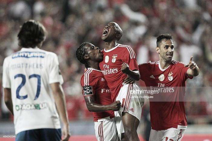 Benfica 2015/2016: os três melhores golos