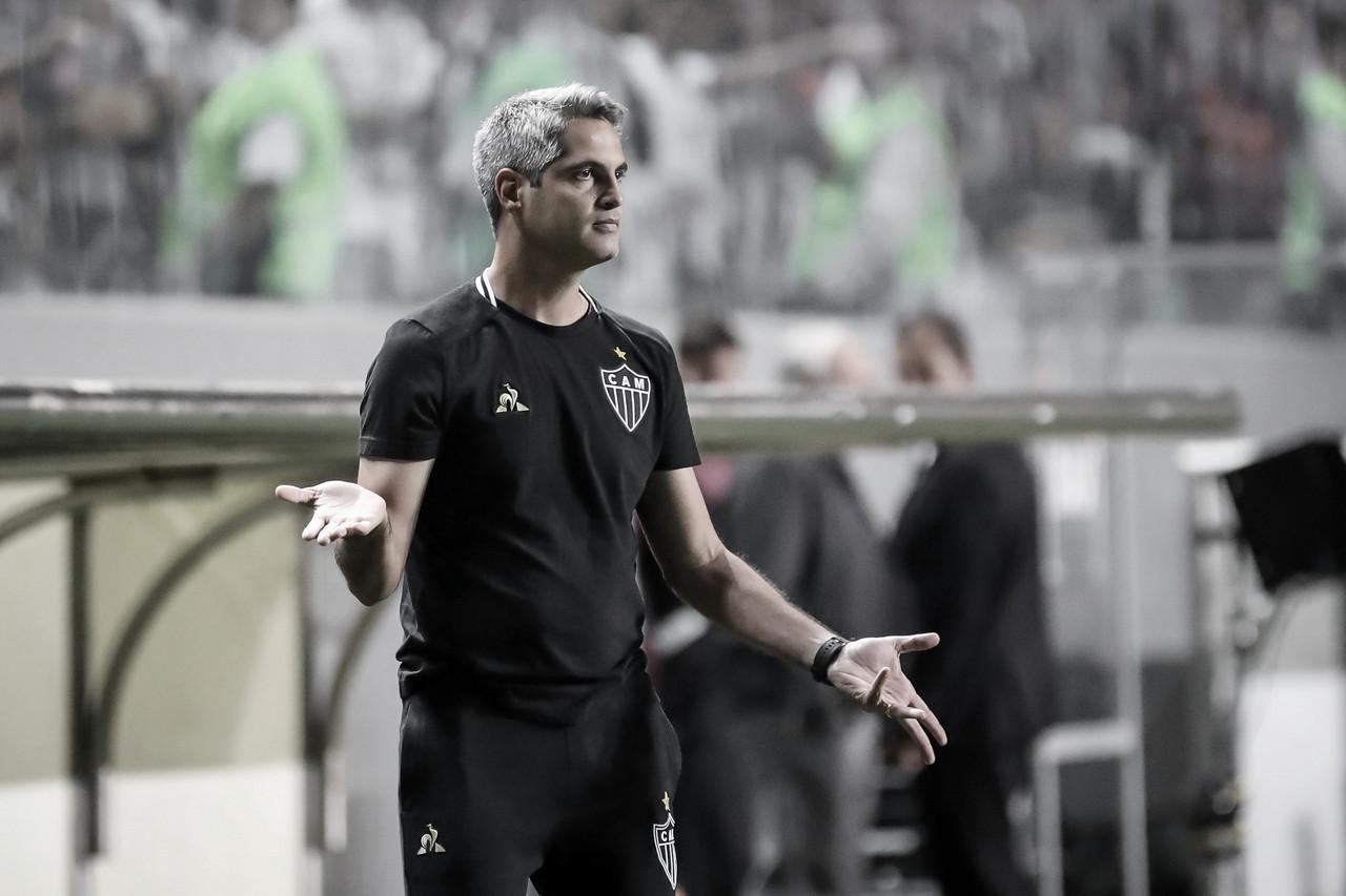 """Rodrigo Santana comemora classificação do Atlético-MG na Sula: """"Confiança muito grande"""""""