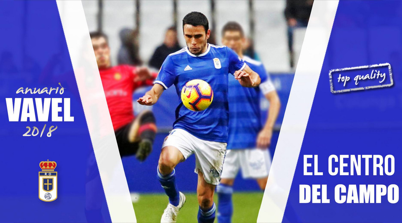 Anuario VAVEL Real Oviedo 2018: centro del campo: construyendo una línea de mucha calidad