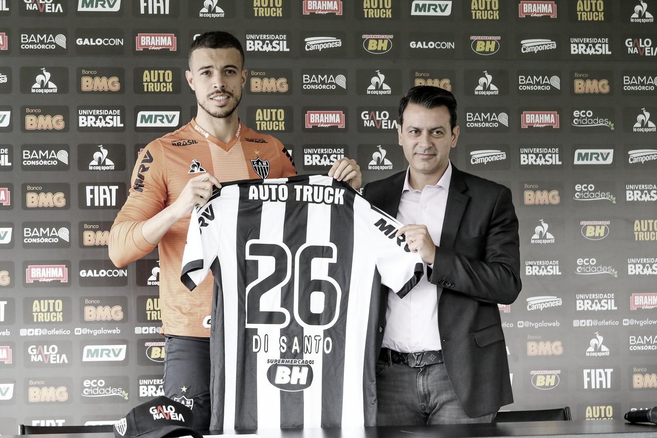 Atlético-MG anuncia contratação do atacante Di Santo até 2020