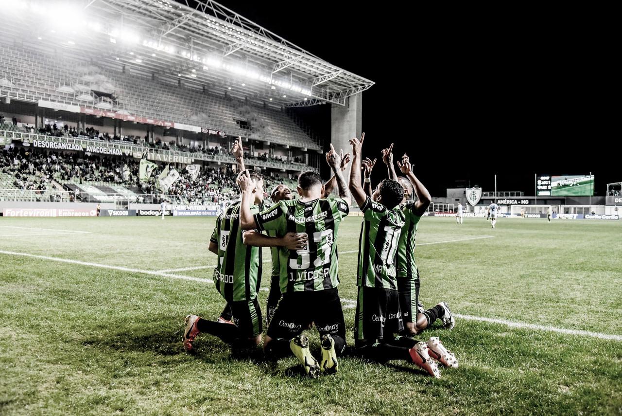 Em duelo de sete gols, América-MG bate Londrina de virada e sai da zona de rebaixamento