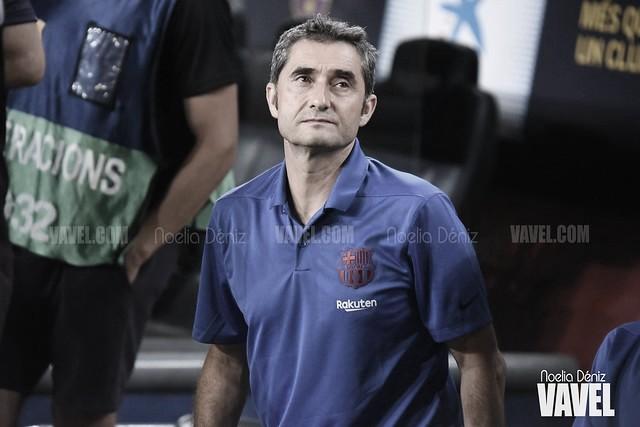 """Valverde: """"Son todos buenísimos"""""""