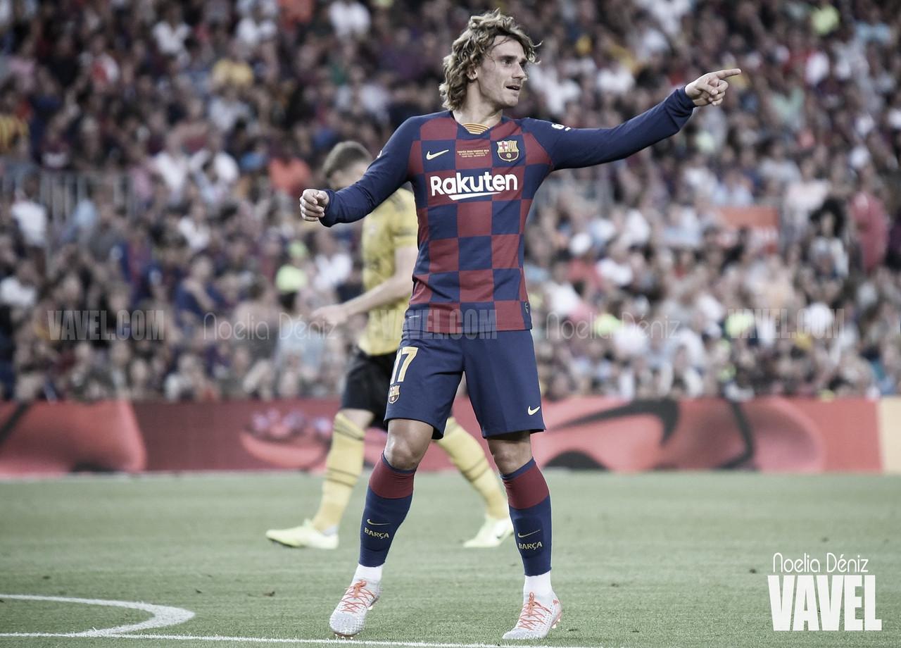"""Griezmann: """"Messi, Suárez y yo necesitamos estar juntos en el campo"""""""